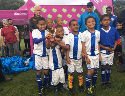 LOCAL KIDS SHOWCASE THEIR FOOTBALL SKILLS IN LANSDOWNE FC MINI TOURNAMENT