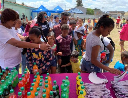 Children's Event in Bonteheuwel